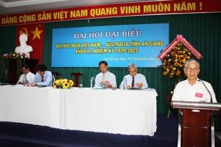 Đại hội Hội Hữu nghị Việt Nam - Australia tỉnh An Giang