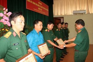 Ban Chỉ huy Quân sự TP. Long Xuyên: Tập trung xây dựng đơn vị vững mạnh toàn diện