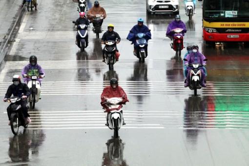 Thời tiết ngày 16-1: Không khí lạnh gây mưa phùn, trời rét ở Bắc bộ