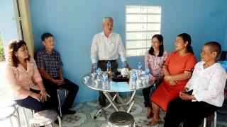 BIDV chi nhánh An Giang tài trợ xây dựng 2 nhà Tình nghĩa ở Tri Tôn