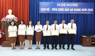 Báo An Giang tổ chức Hội nghị cán bộ - viên chức năm 2019