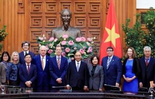 Thủ tướng Nguyễn Xuân Phúc tiếp lãnh đạo Trường Harvard Kennedy
