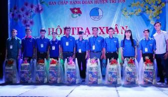 Huyện đoàn Tri Tôn  tổ chức Hội trại Xuân năm 2020
