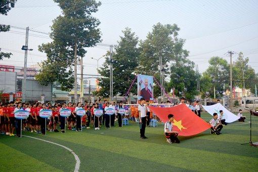Châu Thành khai mạc Hội khỏe Phù Đổng lần thứ 29