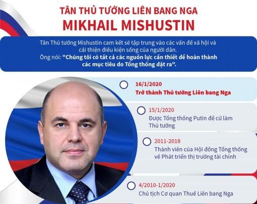 Tân thủ tướng Liên bang Nga Mikhail Mishustin