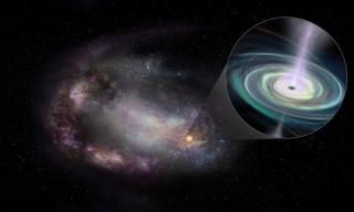 Sửng sốt lỗ đen khổng lồ lang thang trong các thiên hà lùn
