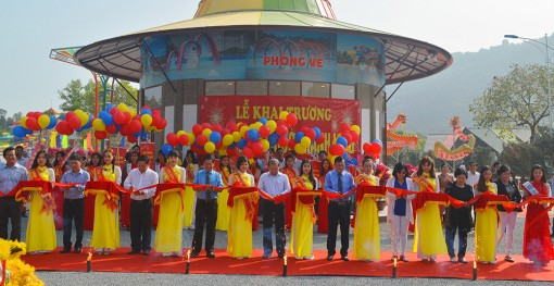 An Giang: Khai trương công viên nước Thanh Long