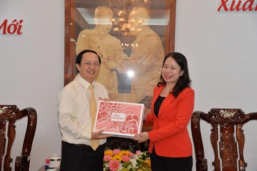 Đại học Quốc gia TP. Hồ Chí Minh thăm, chúc Tết Tỉnh ủy An Giang
