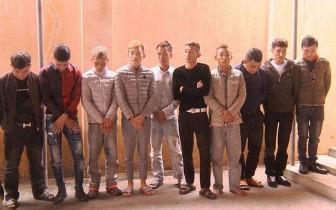 Bắt 19 đối tượng sử dụng ma túy trong quán karaoke ở Thanh Hóa