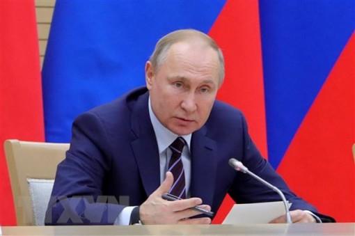 Tổng thống Putin: Tránh tình trạng nguyên thủ nắm quyền vô hạn định
