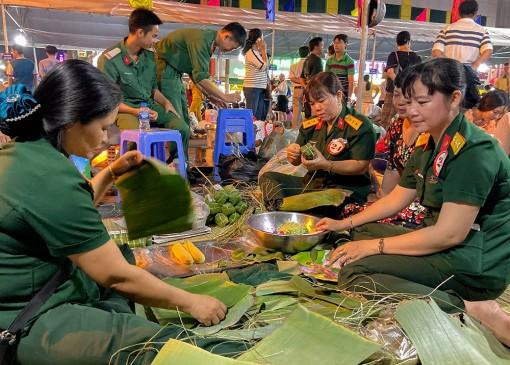 TP. Long Xuyên tổ chức Hội thi gói, nấu bánh tét mừng Đảng, mừng Xuân Canh Tý 2020