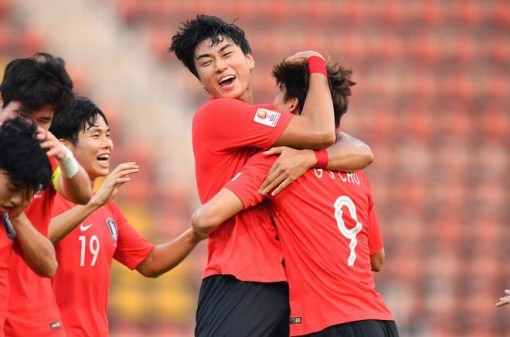 U.23 Hàn Quốc thắng nghẹt thở U.23 Jordan, vào bán kết U.23 Châu Á