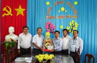 Nhiều hoạt động chăm lo Tết ở Tri Tôn