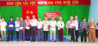 Họp mặt thương binh khuyết tật ở Tịnh Biên nhân dịp Xuân Canh Tý 2020