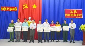 Tịnh Biên họp mặt mừng Xuân Canh Tý 2020