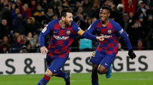 Messi lập công, Barca thắng trận ngày ra mắt HLV mới