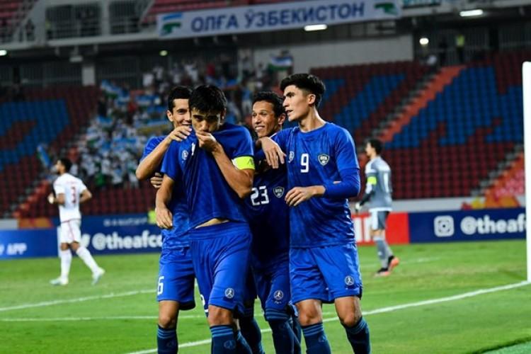 U23 Uzbekistan giành chiến thắng - dấu chấm hết cho U23 UAE