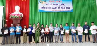 Công an huyện Châu Phú họp mặt người hoàn lương đầu Xuân Canh Tý năm 2020