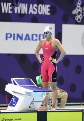 Ánh Viên vẫn mơ vé Olympic