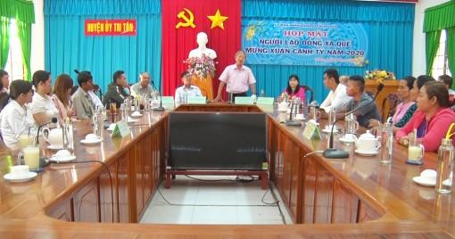 Huyện Tri Tôn có hơn 20.000 lao động xa quê