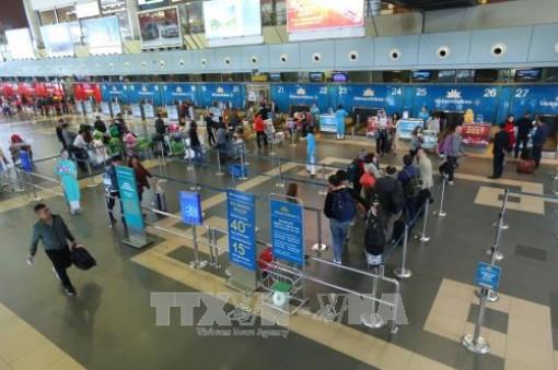 Giám sát chặt tại các sân bay qua camera an ninh