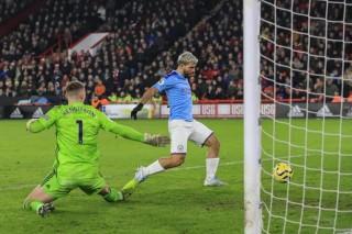 De Bruyne dọn cỗ cho Aguero, Man City thắng tối thiểu Sheffield