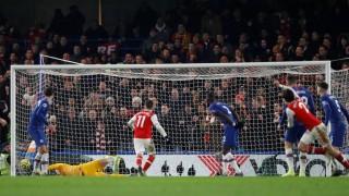 David Luiz nhận thẻ đỏ, Arsenal xuất sắc cầm hòa Chelsea