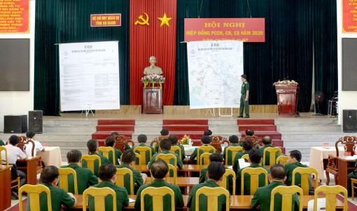Bộ Chỉ huy Quân sự tỉnh An Giang hiệp đồng phòng, chống cháy nổ, cháy rừng, cứu sập năm 2020