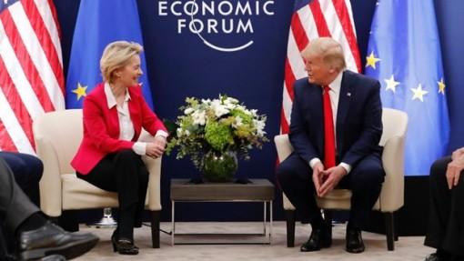 WEF 2020: Mỹ và EU thảo luận về thỏa thuận thương mại song phương
