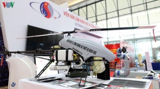 Việt Nam chế tạo thành công máy bay trực thăng không người lái