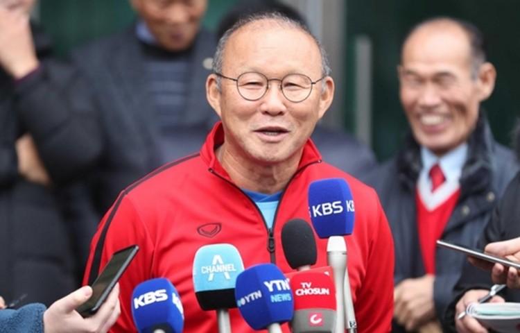 """HLV Park: """"Chúc bóng đá Việt Nam hoàn thành giấc mơ trong năm mới"""""""