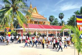 Tết Việt của người Khmer!