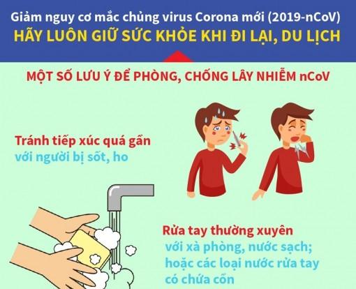 Những lưu ý để phòng, chống lây nhiễm virus Corona