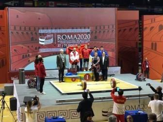 World Cup cử tạ thế giới Roma 2020: Việt Nam giành bảy HCV