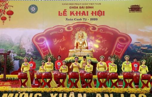 Ninh Bình: Khai hội chùa Bái Đính Xuân Canh Tý 2020