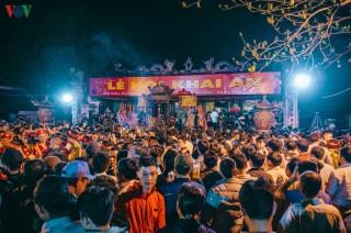 Dừng Lễ hội Khai ấn Đền Trần 2020 để phòng tránh dịch virus corona