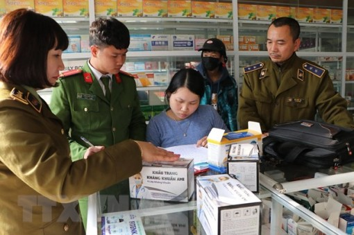 Dịch virus Corona: Xử lý 85 cửa hàng kinh doanh tăng giá khẩu trang