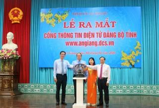 Ra mắt Cổng thông tin điện tử Đảng bộ tỉnh An Giang