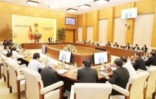 Thường vụ Quốc hội ban hành nghị quyết về công tác nhân sự một số tỉnh