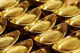 Giá vàng liên tiếp lao dốc theo đà giảm của vàng thế giới