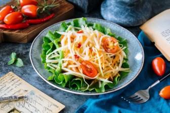 Cách cực dễ làm món nộm đu đủ ngon nổi tiếng của người Thái