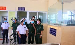 Kiểm dịch virus Corona ở Cửa khẩu Quốc tế Tịnh Biên