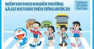 """Phát động cuộc thi sáng tác khẩu hiệu """"Doraemon với an toàn giao thông"""" năm 2019 - 2020"""