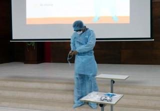 Bệnh viện Sản - Nhi An Giang tổ chức tuyên truyền phòng, chống dịch bệnh do virus Corona