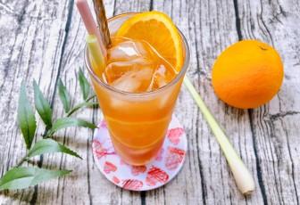 Trà cam sả mật ong
