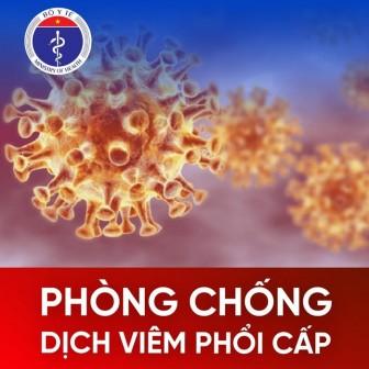 Khuyến cáo quan trọng về dịch viêm phổi cấp từ Bộ Y tế