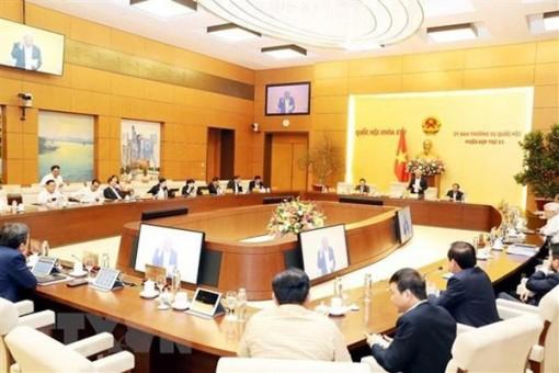 Phiên họp thứ 42 của Ủy ban Thường vụ Quốc hội sẽ khai mạc ngày 10-2