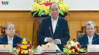 Thủ tướng Nguyễn Xuân Phúc làm việc tại Thừa Thiên Huế