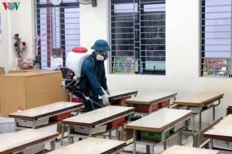 63 tỉnh/thành phố kéo dài thời gian nghỉ học của HS phòng dịch corona