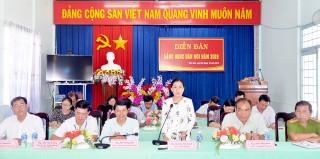 """Châu Thành: Phát động thi đua """"Dân vận khéo"""" của Đảng và xây dựng nông thôn mới"""